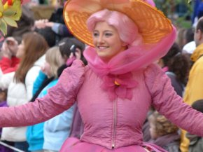 Disneyland 3 avril 2011 - fleurs DOUD