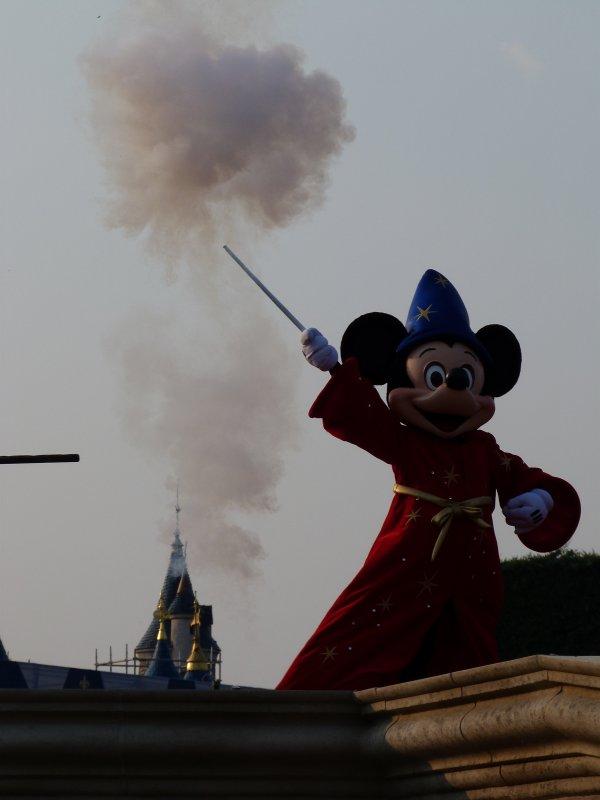 Disneyland 25 avril 2011 - Set