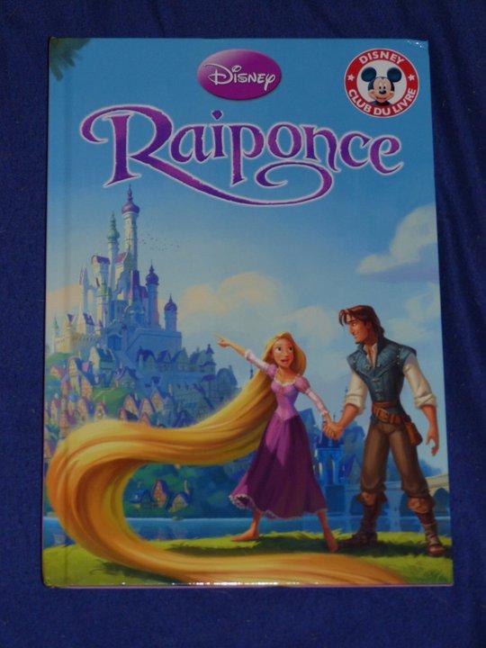 Cadeau Disney - livre Raiponce