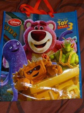 Disney Store - sacs réutilisables, cadeau Nath