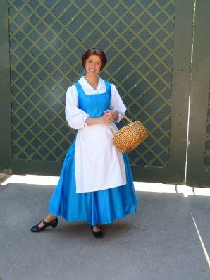Disneyland 31 juillet 2011 - DLH / nains / Belle / Raiponce