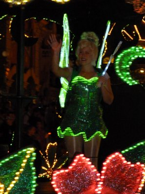 Disneyland 31 juillet 2011 - Mickey / Ariel /