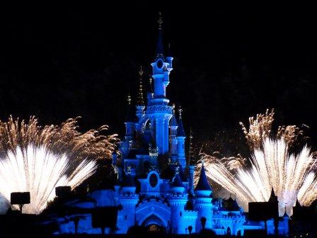 Disneyland 31 juillet 2011 - Feux enchantés