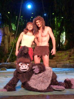 Disneyland 1er aout 2011 - Tarzan / Chateau