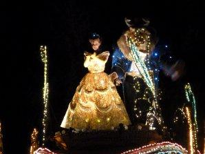 Disneyland 1er aout 2011 - Fantillusion / Cadeaux