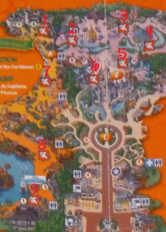 Disneyland 7 octobre 2011 - Fête Pas-Si-Trouille