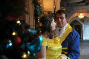 Disneyland 7 octobre 2011 - costumes Belle et Prince Adam