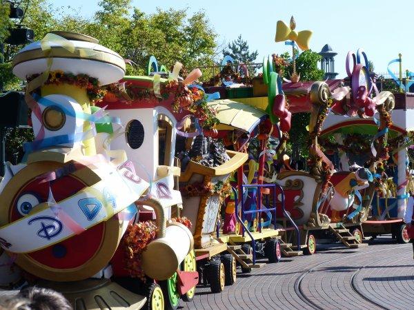 Disneyland 15 octobre 2011 - Des citrouilles