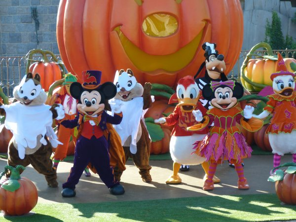 Disneyland 15 octobre 2011 - Mickey et sa Surprise Party d'Halloween