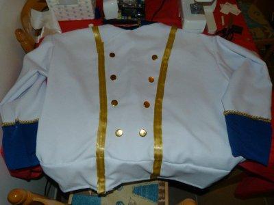 Costume du Prince - Soirée Halloween - 31 octobre 2011