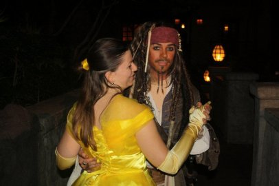 Disneyland 28 octobre 2011 - pas si trouille