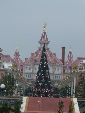 Disneyland 6 novembre 2011 - décorations Noël