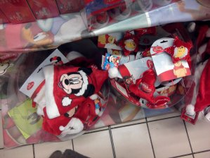Auchan - articles de Noël