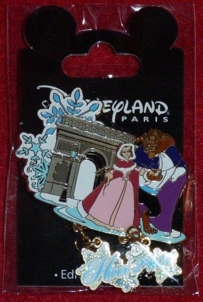 Disneyland - pin's Hiver