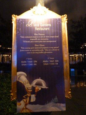 Disneyland 31 décembre -  Plaza Garden