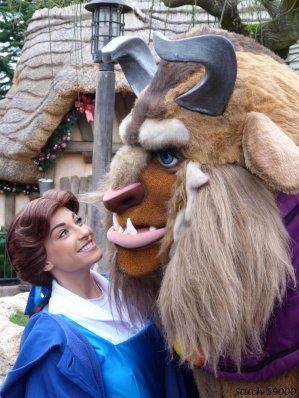 Disneyland 8 janvier 2012 - Belle, Bête et Raiponce