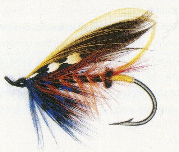 Mouches à saumon Thunder Lightning et Willie Gunn