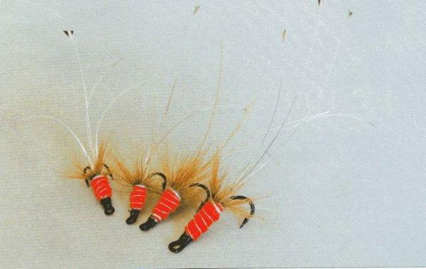 """La Snaelda et la Red Francis, mouches à saumon pour pêcher """"creux"""""""