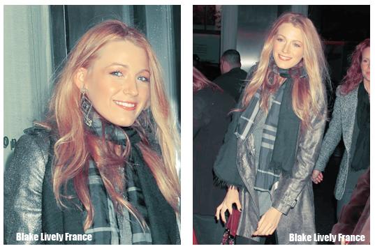 Blake a assisté le 7 décembre, en compagnie de sa soeur Robin et de son agent, à l'avant première du film Blue Valentine. Comme vous le savez Blake était il y a quelques jours à Paris. Il semblerait que le but de ce voyage soit maintenant dévoilé! Attention : Blake Lively serait la nouvelle égérie de la marque Chanel et aurait passé son séjour à Paris pour effectuer un nouveau photoshoot pour la nouvelle collection de sacs a main Chanel ! La campagne devrait sortir l'an prochain, c'est à dire dans un mois peut-être !  source: blakelively-fan.com