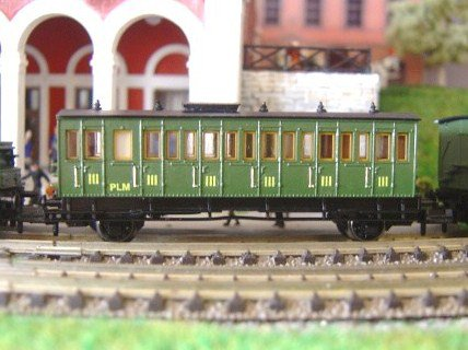 locomotive bourbonnais echelle N