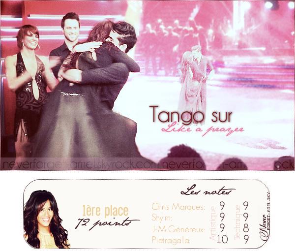 6ème prime: Sur une samba & un tango.