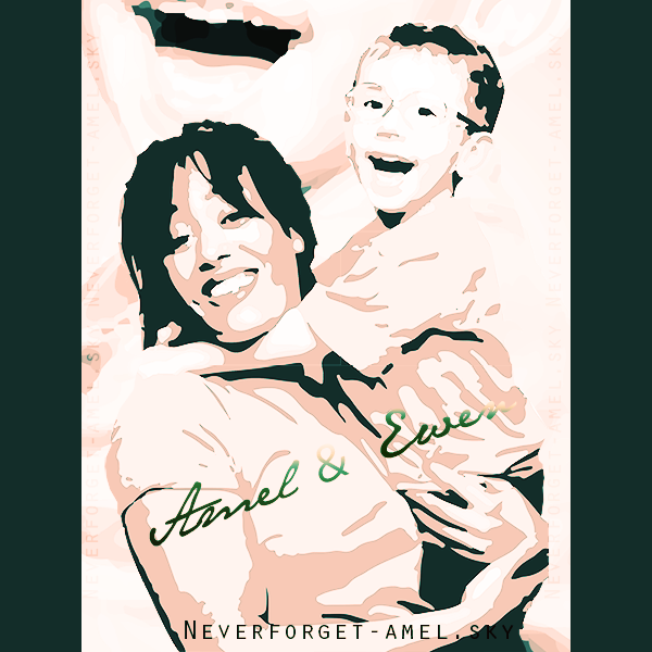 "26.02.2013:  Amel & Ewen... ""A chacun ses héros""."