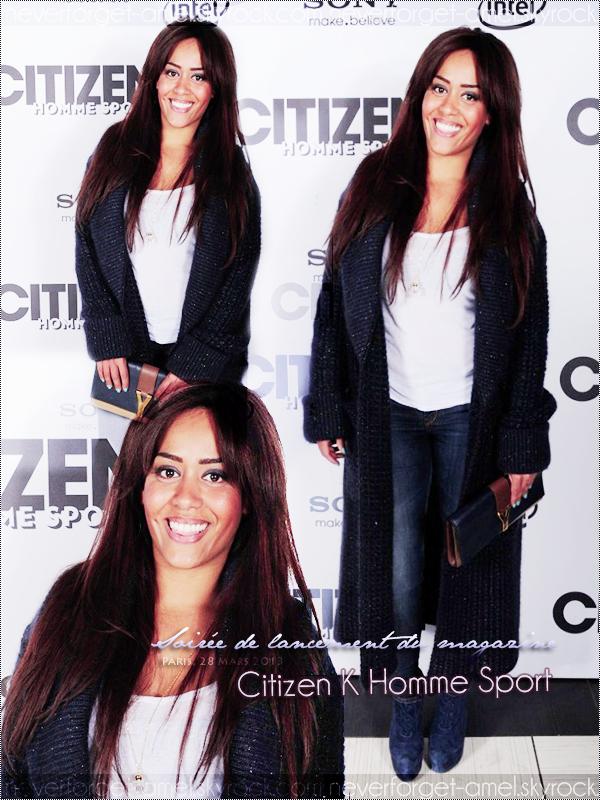 28 mars 2013 - Soirée de lancement du magazine Citizen K Homme Sport