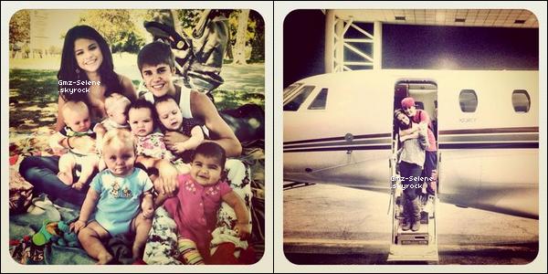 . 21.09.2011 : ____________Photo de Selena avec Justin Bieber posté via Instagram. ________________Qu'en penses-tu ?.. .
