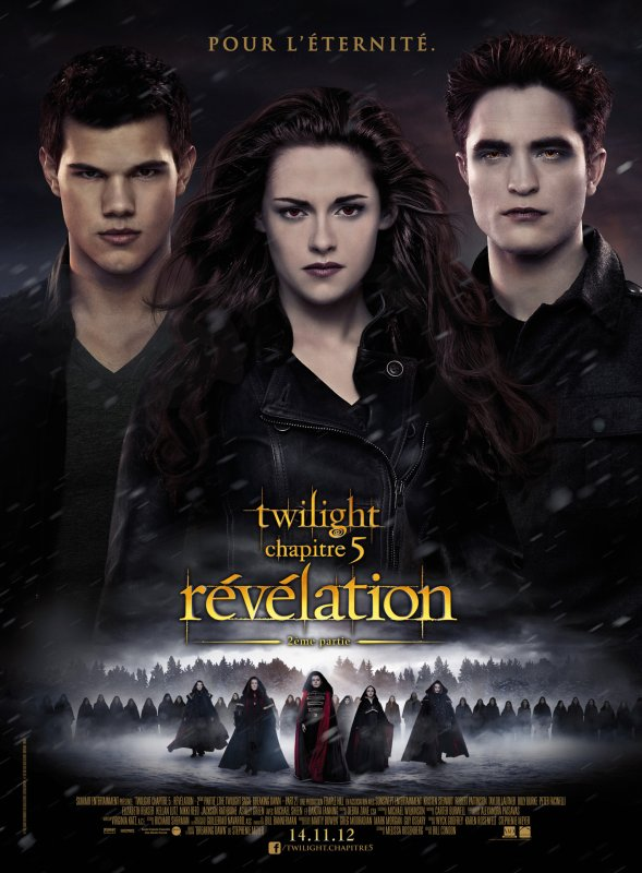 Voila  l'image officiel du film . Twilight révélation partie 2