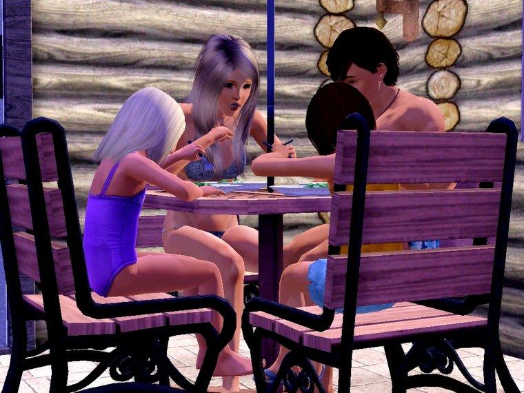 Màj 7 : On dîne dehors !