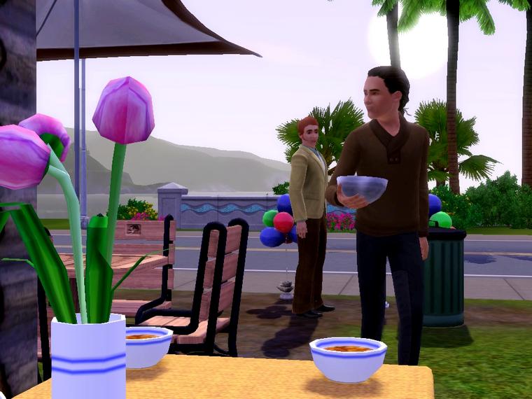 Màj 8 : C'est la fiesta chez mes Sims !