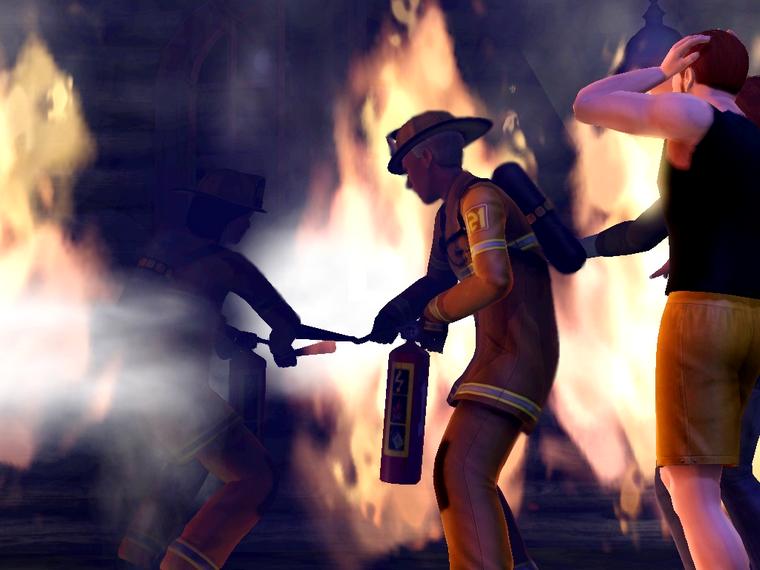 Màj 8 : L'Incendie et le mystérieux Jon