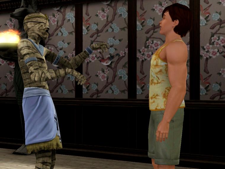Màj 9 : Fight avec la momie !