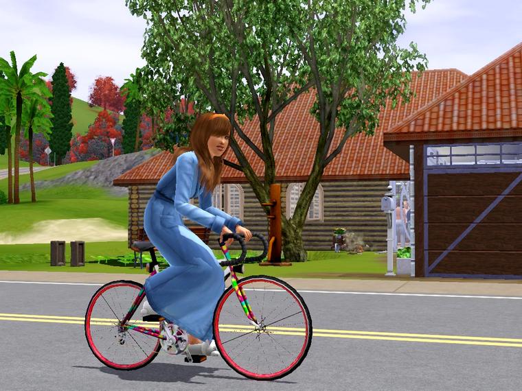 Màj 12 : Une folle chez les Sims