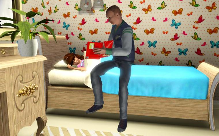 Màj 18 : Davy fera un bon papa
