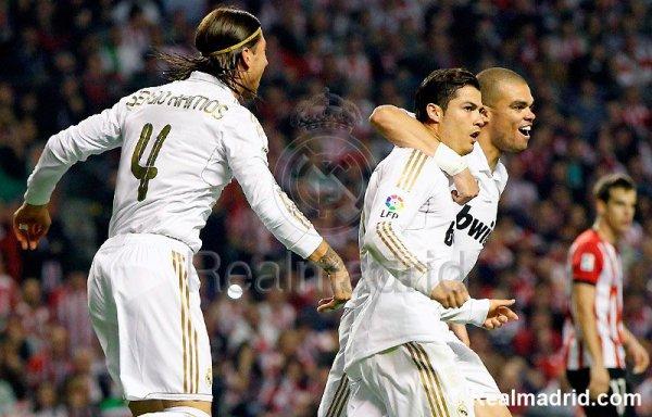 Le Real Madrid est Champion d'Espagne