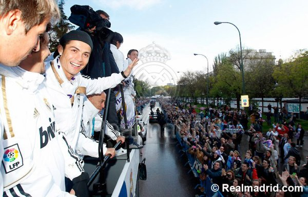 League Title Celebrations @ Cibeles