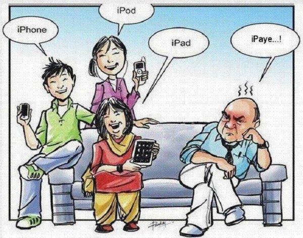 Mamy, Papy, Maman, Papa, vous allez vous ruiner en achetant un coupe communication!!!