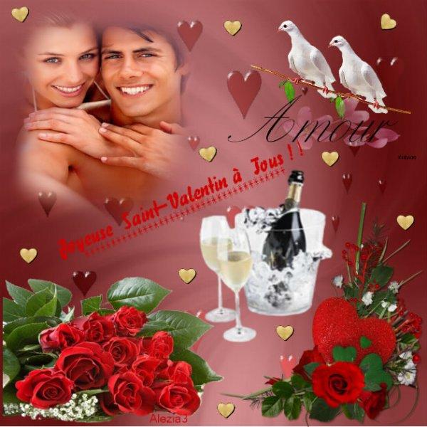Joyeuse St-Valentin à tous!