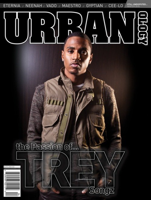 Trey Songz on the cover of Urbanology.