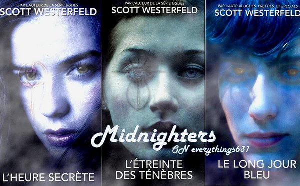 Midnighters On Everythings631 Si tu aimes le bizarre, ce livre tu l'aimeras ♥
