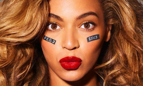 Beyonce for the superbowl