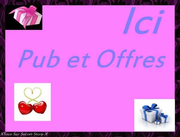Les Offres - Pubs