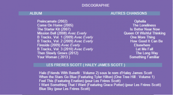 Ses Clips / Discographie on World-Wide