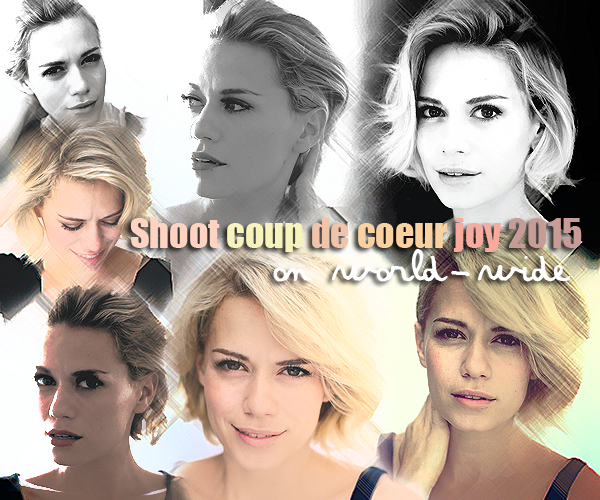 Photoshoot Coup de coeur de Joy en 2015 on world-wide
