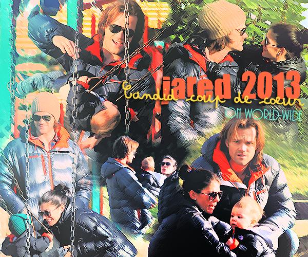 Candid coup de coeur de Jared padalecki en 2013 on world-wide