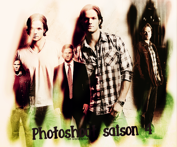 Photoshoot Promotionelle Saison 4, 6, 7 & 9 sam winchester on world-wide.sky