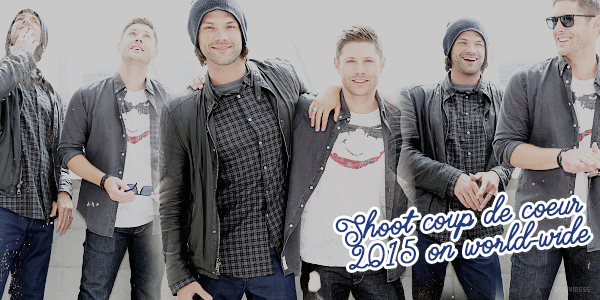 Shoot coup de coeur 2015 de Jared Padalecki on world-wide
