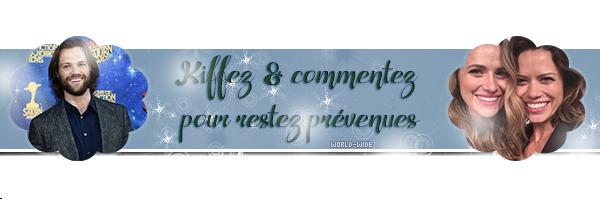 News de Juillet & Aout de Jared Padalecki on world-wide