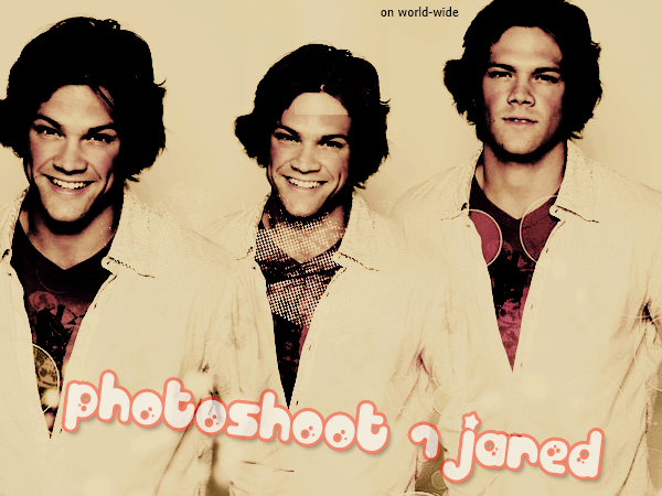 Autre photoshoot de Jared Padalecki (1) on World-wide